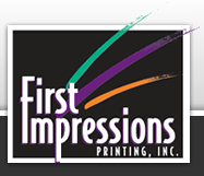 First Impressions Printing Logo